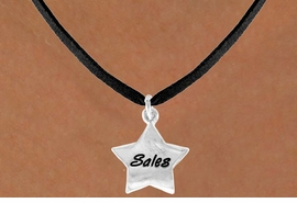 "<bR>              EXCLUSIVELY OURS!!<BR>CLICK HERE TO SEE 120+ EXCITING<BR>   CHANGES THAT YOU CAN MAKE!<BR>              LEAD & NICKEL FREE!!<BR>       W449SN - ""SALES"" STAR &<Br>       NECKLACE AS LOW AS $4.50"