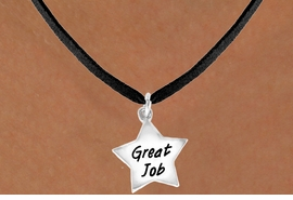 "<bR>              EXCLUSIVELY OURS!!<BR>CLICK HERE TO SEE 120+ EXCITING<BR>   CHANGES THAT YOU CAN MAKE!<BR>              LEAD & NICKEL FREE!!<BR>   W462SN - ""GREAT JOB"" STAR &<Br>        NECKLACE AS LOW AS $4.50"