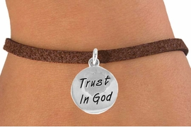 "<bR>              EXCLUSIVELY OURS!!<BR>CLICK HERE TO SEE 120+ EXCITING<BR>  CHANGES THAT YOU CAN MAKE!<BR>             LEAD & NICKEL FREE!!<BR>    W465SB - ""TRUST IN GOD"" &<br>  BRACELET FROM $4.50 TO $8.35"