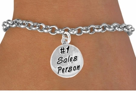 "<bR>               EXCLUSIVELY OURS!!<BR>CLICK HERE TO SEE 120+ EXCITING<BR>   CHANGES THAT YOU CAN MAKE!<BR>              LEAD & NICKEL FREE!!<BR>  W475SB - ""#1 SALES PERSON"" &<br>         BRACELET AS LOW AS $4.50"