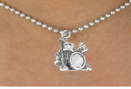 <bR>               EXCLUSIVELY OURS!!<BR>CLICK HERE TO SEE 120+ EXCITING<BR>   CHANGES THAT YOU CAN MAKE!<BR>              LEAD & NICKEL FREE!!<BR>W492SN - DRUM SET & NECKLACE<BR>                   AS LOW AS $4.50