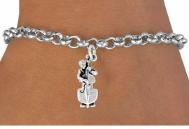 <bR>               EXCLUSIVELY OURS!!<BR>CLICK HERE TO SEE 120+ EXCITING<BR>   CHANGES THAT YOU CAN MAKE!<BR>              LEAD & NICKEL FREE!!<BR>  W501SB - DOUBLE BASS PLAYER<br>      & BRACELET AS LOW AS $4.50