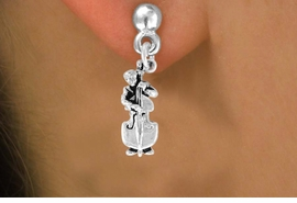 <bR>               EXCLUSIVELY OURS!!<BR>CLICK HERE TO SEE 120+ EXCITING<BR>   CHANGES THAT YOU CAN MAKE!<BR>              LEAD & NICKEL FREE!!<BR>  W501SE - DOUBLE BASS PLAYER<Br>     & EARRINGS FROM $4.50 TO $8.35