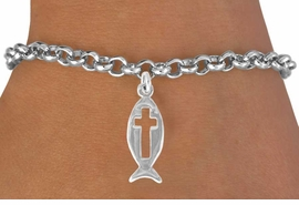 <bR>               EXCLUSIVELY OURS!!<BR>CLICK HERE TO SEE 120+ EXCITING<BR>   CHANGES THAT YOU CAN MAKE!<BR>              LEAD & NICKEL FREE!!<BR>    W518SB - FISH WITH CROSS &<Br>   BRACELET FROM $4.50 TO $8.35