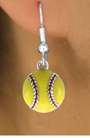 <bR>               EXCLUSIVELY OURS!!<BR>CLICK HERE TO SEE 120+ EXCITING<BR>   CHANGES THAT YOU CAN MAKE!<BR>              LEAD & NICKEL FREE!!<BR>    W527SE - YELLOW SOFTBALL &<Br>   EARRINGS FROM $4.50 TO $8.35<BR>                            �2009