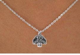 "<bR>             EXCLUSIVELY OURS!!<BR>CLICK HERE TO SEE 120+ EXCITING<BR> CHANGES THAT YOU CAN MAKE!<BR>             LEAD & NICKEL FREE!!<BR> W531SN - ""I LOVE BASKETBALL"" &<Br>      NECKLACE AS LOW AS $4.50"