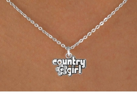 "<bR>               EXCLUSIVELY OURS!!<BR>CLICK HERE TO SEE 120+ EXCITING<BR>   CHANGES THAT YOU CAN MAKE!<BR>              LEAD & NICKEL FREE!!<BR>     W536SN - ""COUNTRY GIRL"" &<BR>       NECKLACE AS LOW AS $4.50"
