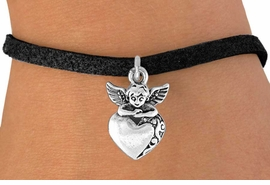 <bR>               EXCLUSIVELY OURS!!<BR>CLICK HERE TO SEE 120+ EXCITING<BR>   CHANGES THAT YOU CAN MAKE!<BR>              LEAD & NICKEL FREE!!<BR>  W538SB - ANGEL WITH HEART &<Br>   BRACELET FROM $4.50 TO $8.35