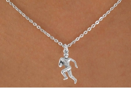 <bR>               EXCLUSIVELY OURS!!<BR>CLICK HERE TO SEE 120+ EXCITING<BR>   CHANGES THAT YOU CAN MAKE!<BR>              LEAD & NICKEL FREE!!<BR>    W551SN - FOOTBALL PLAYER &<BR>        NECKLACE AS LOW AS $4.50