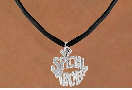 "<bR>               EXCLUSIVELY OURS!!<BR>CLICK HERE TO SEE 120+ EXCITING<BR>   CHANGES THAT YOU CAN MAKE!<BR>              LEAD & NICKEL FREE!!<BR>     W562SN - ""SPECIAL TEACHER""<BR>   ON NECKLACE AS LOW AS $4.50"