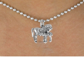 <bR>               EXCLUSIVELY OURS!!<BR>CLICK HERE TO SEE 120+ EXCITING<BR>   CHANGES THAT YOU CAN MAKE!<BR>              LEAD & NICKEL FREE!!<BR>        W563SN - MARE & FOAL ON<BR>   NECKLACE FROM $4.50 TO $8.35