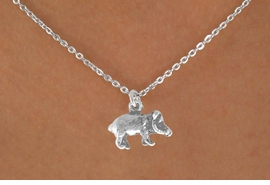 <bR>               EXCLUSIVELY OURS!!<BR>CLICK HERE TO SEE 120+ EXCITING<BR>   CHANGES THAT YOU CAN MAKE!<BR>             LEAD & NICKEL FREE!!<BR>  W564SN - JAVELINA & NECKLACE<BR>                   AS LOW AS $4.50