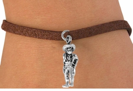 "<bR>                EXCLUSIVELY OURS!!<BR>  CLICK HERE TO SEE 120+ EXCITING<BR>     CHANGES THAT YOU CAN MAKE!<BR>                LEAD & NICKEL FREE!!<BR> W573SB - ""QUICK DRAW COWBOY""<Br>       & BRACELET AS LOW AS $4.50"