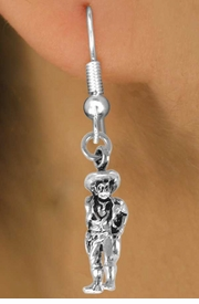 "<bR>                EXCLUSIVELY OURS!!<BR>  CLICK HERE TO SEE 120+ EXCITING<BR>    CHANGES THAT YOU CAN MAKE!<BR>               LEAD & NICKEL FREE!!<BR> W573SE - ""QUICK DRAW COWBOY""<Br>      & EARRINGS FROM $4.50 TO $8.35"