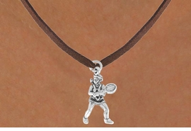 <bR>               EXCLUSIVELY OURS!!<BR>CLICK HERE TO SEE 120+ EXCITING<BR>   CHANGES THAT YOU CAN MAKE!<BR>              LEAD & NICKEL FREE!!<BR>W576SN - FEMALE TENNIS PLAYER<BR>     & NECKLACE AS LOW AS $4.50