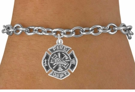 <bR>              EXCLUSIVELY OURS!!<BR>CLICK HERE TO SEE 120+ EXCITING<BR>   CHANGES THAT YOU CAN MAKE!<BR>              LEAD & NICKEL FREE!!<BR>     W580SB - FIREMAN'S BADGE<Br>     & BRACELET AS LOW AS $4.50