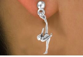 <bR>               EXCLUSIVELY OURS!!<BR>CLICK HERE TO SEE 120+ EXCITING<BR>   CHANGES THAT YOU CAN MAKE!<BR>              LEAD & NICKEL FREE!!<BR>      W585SE - FLOOR GYMNAST &<Br>        EARRINGS FROM $4.50 TO $8.35