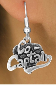 "<bR>               EXCLUSIVELY OURS!!<BR>CLICK HERE TO SEE 120+ EXCITING<BR>   CHANGES THAT YOU CAN MAKE!<BR>              LEAD & NICKEL FREE!!<BR>         W586SE - ""CO-CAPTAIN"" &<Br>        EARRINGS FROM $4.50 TO $8.35"
