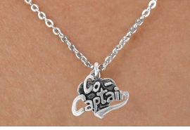 "<bR>               EXCLUSIVELY OURS!!<BR>CLICK HERE TO SEE 120+ EXCITING<BR>   CHANGES THAT YOU CAN MAKE!<BR>              LEAD & NICKEL FREE!!<BR>       W586SN - ""CO-CAPTAIN"" &<BR>        NECKLACE AS LOW AS $4.50"