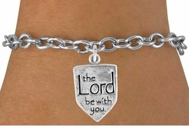 "<bR>                EXCLUSIVELY OURS!!<BR>  CLICK HERE TO SEE 120+ EXCITING<BR>    CHANGES THAT YOU CAN MAKE!<BR>               LEAD & NICKEL FREE!!<BR>W595SB - ""THE LORD BE WITH YOU""<Br>   & BRACELET FROM $4.50 TO $8.35<BR>                               �2008"