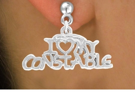 <bR>             EXCLUSIVELY OURS!!<BR>CLICK HERE TO SEE 500+ EXCITING<BR> CHANGES THAT YOU CAN MAKE!<BR>            LEAD & NICKEL FREE!!<BR>  W792SE - I LOVE MY CONSTABLE <Br>   & EARRING FROM $4.50 TO $8.35
