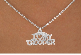 <bR>               EXCLUSIVELY OURS!!<BR>  CLICK HERE TO SEE 500+ EXCITING<BR>   CHANGES THAT YOU CAN MAKE!<BR>              LEAD & NICKEL FREE!!<BR>    W793SN - I LOVE MY TROOPER <Br>     & NECKLACE FROM $4.50 TO $8.35