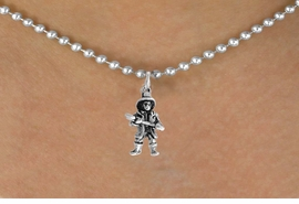 <bR>               EXCLUSIVELY OURS!!<BR>  CLICK HERE TO SEE 500+ EXCITING<BR>   CHANGES THAT YOU CAN MAKE!<BR>              LEAD & NICKEL FREE!!<BR>W797SN - FIREMAN & NECKLACE<Br>                FROM $4.50 TO $8.35