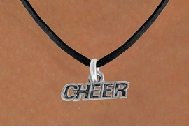 "<bR>             EXCLUSIVELY OURS!!<BR>CLICK HERE TO SEE 600+ EXCITING<BR> CHANGES THAT YOU CAN MAKE!<BR>            LEAD & NICKEL FREE!!<BR>             W911SN - ""CHEER"" &<Br> NECKLACE  FROM $5.55 TO $9.00"