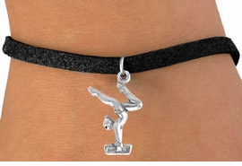 <bR>               EXCLUSIVELY OURS!!<BR> CLICK HERE TO SEE 65+ EXCITING<BR>  CHANGES THAT YOU CAN MAKE!<BR>              LEAD & NICKEL FREE!!<BR>W200SB - GYMNAST ON BALANCE<Br>BEAM BRACELET AS LOW AS $4.50
