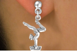 <bR>                EXCLUSIVELY OURS!!<BR>  CLICK HERE TO SEE 65+ EXCITING<BR>   CHANGES THAT YOU CAN MAKE!<BR>               LEAD & NICKEL FREE!!<BR> W200SE - GYMNAST ON BALANCE<Br>BEAM & EARRING FROM $4.50 TO $8.35