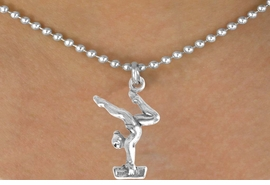 <bR>                  EXCLUSIVELY OURS!!<BR>  CLICK HERE TO SEE 65+ EXCITING<BR>    CHANGES THAT YOU CAN MAKE!<BR>                LEAD & NICKEL FREE!!<BR>  W200SN - GYMNAST ON BALANCE<Br>BEAM & NECKLACE AS LOW AS $4.50