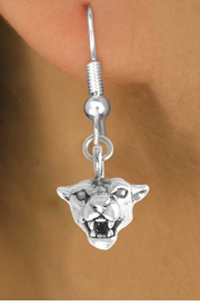 <bR>               EXCLUSIVELY OURS!!<BR> CLICK HERE TO SEE 65+ EXCITING<BR>  CHANGES THAT YOU CAN MAKE!<BR>             LEAD & NICKEL FREE!!<BR>    W207SE - COUGAR & EARRING<br>                  FROM $4.50 TO $8.35