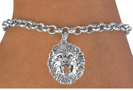 <bR>                EXCLUSIVELY OURS!!<BR> CLICK HERE TO SEE 65+ EXCITING<BR>   CHANGES THAT YOU CAN MAKE!<BR>               LEAD & NICKEL FREE!!<BR>W208SB - LION HEAD & BRACELET<bR>                   AS LOW AS $4.50