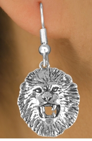 <bR>             EXCLUSIVELY OURS!!<BR>CLICK HERE TO SEE 65+ EXCITING<BR> CHANGES THAT YOU CAN MAKE!<BR>            LEAD & NICKEL FREE!!<BR>W208SE - LION HEAD & EARRING<br>                 FROM $4.50 TO $8.35
