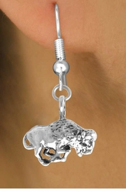 <bR>              EXCLUSIVELY OURS!!<BR>CLICK HERE TO SEE 65+ EXCITING<BR> CHANGES THAT YOU CAN MAKE!<BR>             LEAD & NICKEL FREE!!<BR>   W211SE - BUFFALO & EARRING<bR>                 FROM $4.50 TO $8.35