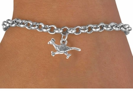 <bR>                   EXCLUSIVELY OURS!!<BR>    CLICK HERE TO SEE 65+ EXCITING<BR>      CHANGES THAT YOU CAN MAKE!<BR>                 LEAD & NICKEL FREE!!<BR>W213SB - ROADRUNNER & BRACELET<Br>                     AS LOW AS $4.50