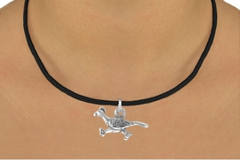 <bR>                   EXCLUSIVELY OURS!!<BR>    CLICK HERE TO SEE 65+ EXCITING<BR>      CHANGES THAT YOU CAN MAKE!<BR>                  LEAD & NICKEL FREE!!<BR>W213SN - ROADRUNNER & NECKLACE<br>                      AS LOW AS $4.50