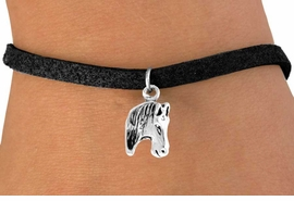 <bR>                EXCLUSIVELY OURS!!<BR>   CLICK HERE TO SEE 65+ EXCITING<BR>    CHANGES THAT YOU CAN MAKE!<BR>               LEAD & NICKEL FREE!!<BR>W215SB - HORSE HEAD & BRACELET<br>                    AS LOW AS $4.50