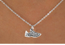"<bR>              EXCLUSIVELY OURS!!<BR>CLICK HERE TO SEE 65+ EXCITING<BR> CHANGES THAT YOU CAN MAKE!<BR>            LEAD & NICKEL FREE!!<BR>     W219SN - ""I LOVE RUNNING""<br>   & NECKLACE AS LOW AS $4.50"