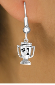 """<bR>              EXCLUSIVELY OURS!!<BR>CLICK HERE TO SEE 65+ EXCITING<BR> CHANGES THAT YOU CAN MAKE!<BR>             LEAD & NICKEL FREE!!<BR>        W233SE - """"#1"""" TROPHY &<Br>        EARRING FROM $4.50 TO $8.35"""