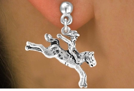 "<bR>              EXCLUSIVELY OURS!!<BR>CLICK HERE TO SEE 65+ EXCITING<BR> CHANGES THAT YOU CAN MAKE!<BR>            LEAD & NICKEL FREE!!<BR>    W235SE - ""BRONCO BUSTER""<Br>    & EARRING FROM $4.50 TO $8.35"