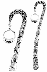 "<bR>              EXCLUSIVELY OURS!!<BR>CLICK HERE TO SEE 65+ EXCITING<BR> CHANGES THAT YOU CAN MAKE!<BR>             LEAD & NICKEL FREE!!<BR>  W239SBM - ""TENNIS"" VISOR &<Br>BOOKMARK FROM $3.31 TO $6.25"