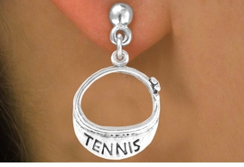 "<bR>                EXCLUSIVELY OURS!!<BR>  CLICK HERE TO SEE 65+ EXCITING<BR>    CHANGES THAT YOU CAN MAKE!<BR>               LEAD & NICKEL FREE!!<BR>W239SE - ""TENNIS"" VISOR CHARM<Br>     & EARRINGS FROM $4.50 TO $8.35"