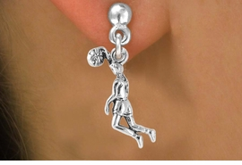 <bR>             EXCLUSIVELY OURS!!<BR>CLICK HERE TO SEE 65+ EXCITING<BR> CHANGES THAT YOU CAN MAKE!<BR>            LEAD & NICKEL FREE!!<BR>   W241SE - BASKETBALL DUNK<Br>   & EARRINGS FROM $4.50 TO $8.35