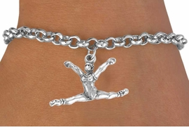 "<bR>              EXCLUSIVELY OURS!!<BR>CLICK HERE TO SEE 65+ EXCITING<BR> CHANGES THAT YOU CAN MAKE!<BR>             LEAD & NICKEL FREE!!<BR>  W246SB - ""BALLERINA SPLITS""<Br>    & BRACELET AS LOW AS $4.50"
