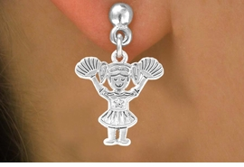 <bR>                EXCLUSIVELY OURS!!<BR>  CLICK HERE TO SEE 65+ EXCITING<BR>   CHANGES THAT YOU CAN MAKE!<BR>               LEAD & NICKEL FREE!!<BR>W251SE - POM-POM CHEERLEADER<Br>      & EARRINGS FROM $4.50 TO $8.35