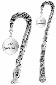"<bR>              EXCLUSIVELY OURS!!<BR>CLICK HERE TO SEE 65+ EXCITING<BR>  CHANGES THAT YOU CAN MAKE!<BR>             LEAD & NICKEL FREE!!<BR> W283SBM -  ""THE GREATEST"" &<Br>BOOKMARK FROM $3.31 TO $6.25"