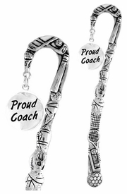 "<bR>              EXCLUSIVELY OURS!!<BR>CLICK HERE TO SEE 65+ EXCITING<BR>  CHANGES THAT YOU CAN MAKE!<BR>             LEAD & NICKEL FREE!!<BR>  W314SBM -  ""PROUD COACH"" &<Br>BOOKMARK FROM $3.31 TO $6.25"