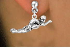 <bR>              EXCLUSIVELY OURS!!<BR>CLICK HERE TO SEE 65+ EXCITING<BR>  CHANGES THAT YOU CAN MAKE!<BR>             LEAD & NICKEL FREE!!<BR> W359SE - FREESTYLE SWIMMER<Br>     & EARRING FROM $4.50 TO $8.35