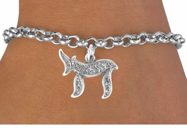 """<bR>               EXCLUSIVELY OURS!!<BR> CLICK HERE TO SEE 65+ EXCITING<BR>   CHANGES THAT YOU CAN MAKE!<BR>              LEAD & NICKEL FREE!!<BR>W363SB - JEWISH """"CHAI"""" SYMBOL<Br> & BRACELET FROM $4.50 TO $8.35"""